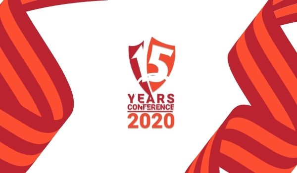 logo 15 years conference
